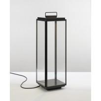 Lumignon ILFORD XL FLOOR - LED de Nautic, Bronze patine foncé, Verre clair