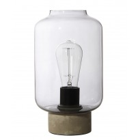 Lampe COLUMN de Frandsen, Grand modèle, Verre fumé