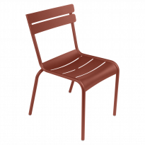 Chaise LUXEMBOURG de Fermob, Ocre rouge