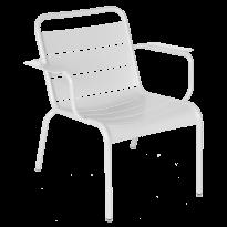 Fauteuil lounge LUXEMBOURG de Fermob, Blanc coton