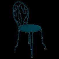 Chaise MONTMARTRE de Fermob, bleu acapulco