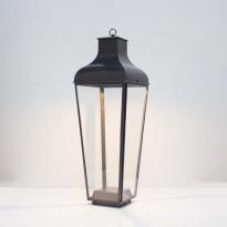 Lanterne MONTROSE FLOOR - LED de Nautic, Bronze patine foncé, Verre clair