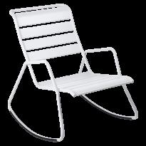 Rocking Chair MONCEAU de Fermob, Blanc coton