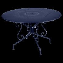 Table MONTMARTRE de Fermob D. 117 Bleu abysse