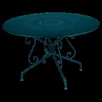 Table MONTMARTRE de Fermob D.117 bleu acapulco
