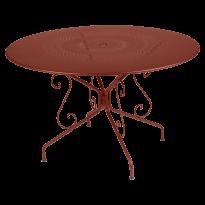 Table MONTMARTRE de Fermob D.117 Ocre rouge