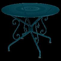 Table MONTMARTRE de Fermob D.96 Bleu acapulco