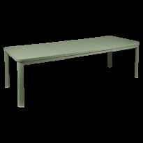 Table 2 allonges OLERON 155/255X100 de Fermob, 6 coloris