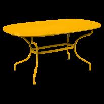Table ovale 160x90 OPÉRA + de Fermob, Miel