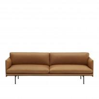 Canapé OUTLINE de Muuto, 2 tailles, 6 coloris