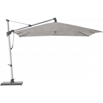 Parasol décentré SOMBRANO® S+ de Glatz, 350 x 350, 420 Smoke