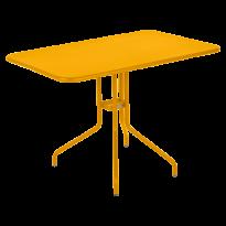 Table rabattable PÉTALE de Fermob 110 cm, Miel