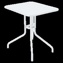 Table rabattable PÉTALE de Fermob 60 cm blanc coton