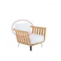 Coussin dossier pour fauteuil WELCOME de Unopiu