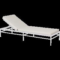 Bain de soleil RIVAGE de Vlaemynck, Structure Blanc coton, Ficelle