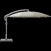 Parasol décentré PENDALEX P+ de Glatz, Rond, D.300 cm, 605 Clay