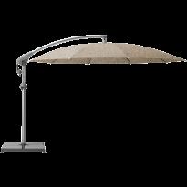 Parasol décentré PENDALEX P+ de Glatz, Rond, D.350 cm, 650 Camel