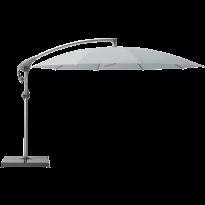 Parasol décentré PENDALEX P+ de Glatz, Rond, D.350 cm, 665 Chrome