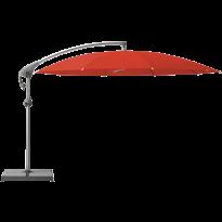 Parasol décentré PENDALEX P+ de Glatz, Rond, D.350 cm, 516 Fire Red