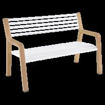 Banc SOMERSET de Fermob, Blanc coton