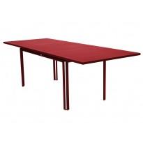 Table à allonge COSTA de Fermob, Piment