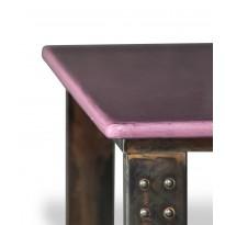 Table basse en pierre de lave figue atelier