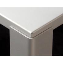 Table BIG IRONY OUTDOOR de Zeus, L.200 x P.90 x H.73 cm, Blanc