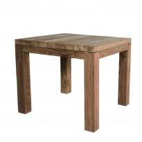 Table carrée CARL, 90 x 90 cm, Teck
