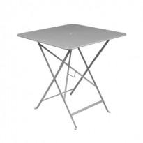 Table carrée BISTRO 71x71 gris métal de Fermob