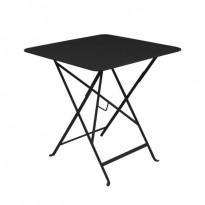 Table carrée BISTRO 71x71 noir réglisse de Fermob