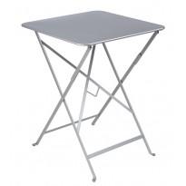 Table carrée BISTRO gris métal 57x57 de Fermob