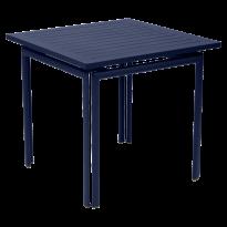 Table carrée COSTA de Fermob, Bleu abysse