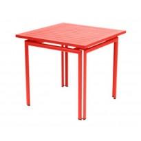 Table carrée COSTA de Fermob, Capucine