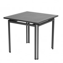 Table carrée COSTA de Fermob Carbone