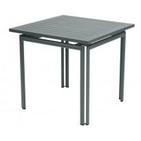 Table carrée COSTA de Fermob, Gris Orage