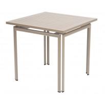 Table carrée COSTA de Fermob, Muscade