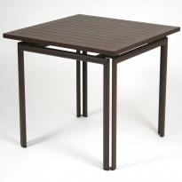 Table carrée COSTA de Fermob, Rouille