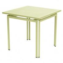 Table carrée COSTA de Fermob, Tilleul