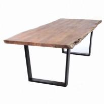 Table KLIMT, plateau acacia, 200 x 100 cm de Le Cèdre Rouge