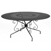 Table MONTMARTRE de Fermob D. 117 Carbone