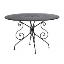 Table MONTMARTRE de Fermob D.117 réglisse