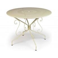 Table MONTMARTRE de Fermob D.96, Muscade