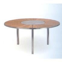 Table O-Zon 160 Teck/Inox