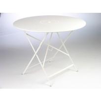Table pliante FLORÉAL de Fermob D.96 blanc coton