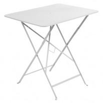 Table rectangulaire 77 x 57 cm Bistro de Fermob, Blanc coton