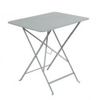 Table rectangulaire 77 x 57 cm Bistro de Fermob, Gris métal