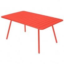 Table rectangulaire confort 6 LUXEMBOURG de Fermob, 23 coloris