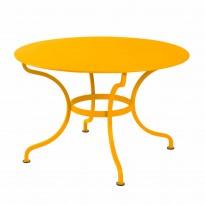 Table ronde D.137 ROMANE de Fermob, Miel