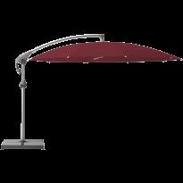 Parasol décentré PENDALEX P+ de Glatz, Rond, D.350 cm, 645 Burgundy