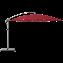 Parasol décentré PENDALEX P+ de Glatz, Rond, D.350 cm, 646 Rubino